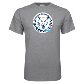 Grey T Shirt-Primary Athletic Mark