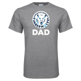 Grey T Shirt-Dad with Athletic Mark