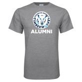 Grey T Shirt-Alumni with Athletic Mark