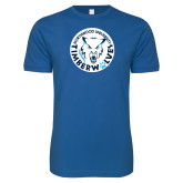 Next Level SoftStyle Royal T Shirt-Primary Athletic Mark