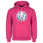 Fuchsia Fleece Hoodie-Primary Athletic Mark