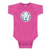Fuchsia Infant Onesie-Primary Athletic Mark