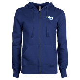 ENZA Ladies Royal Fleece Full Zip Hoodie-NU Athletic Mark