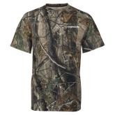 Realtree Camo T Shirt-Northwood University Timberwolves Wordmark