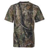 Realtree Camo T Shirt-Institutional Mark Horizontal