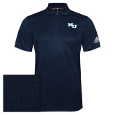 Adidas Climalite Navy Grind Polo-NU Athletic Mark