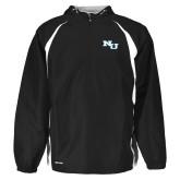 Holloway Hurricane Black/White Pullover-NU Athletic Mark