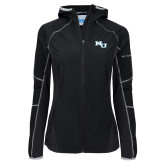 Columbia Ladies Sweet As Black Hooded Jacket-NU Athletic Mark