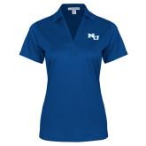 Ladies Royal Performance Fine Jacquard Polo-NU Athletic Mark