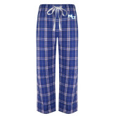 Royal/White Flannel Pajama Pant-NU Athletic Mark