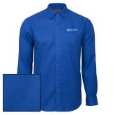 Red House Royal Diamond Dobby Long Sleeve Shirt-Institutional Mark Horizontal