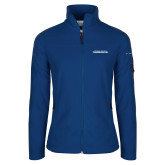 Columbia Ladies Full Zip Royal Fleece Jacket-Northwood University Timberwolves Wordmark