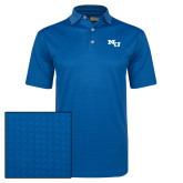 Callaway Magnetic Blue Jacquard Polo-NU Athletic Mark