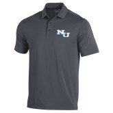 Under Armour Graphite Performance Polo-NU Athletic Mark