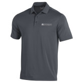 Under Armour Graphite Performance Polo-Institutional Mark Horizontal