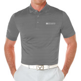 Callaway Opti Vent Steel Grey Polo-Institutional Mark Horizontal