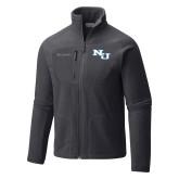 Columbia Full Zip Charcoal Fleece Jacket-NU Athletic Mark
