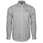 Red House Grey Plaid Long Sleeve Shirt-Institutional Mark Horizontal