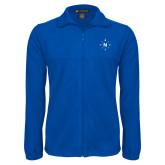 Fleece Full Zip Royal Jacket-North Compass