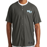 New Era Charcoal Diamond Era Jersey-NU Athletic Mark