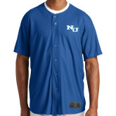 New Era Royal Diamond Era Jersey-NU Athletic Mark