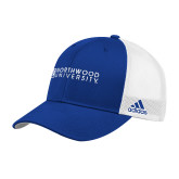 Adidas Royal Structured Adjustable Hat-Institutional Mark Horizontal