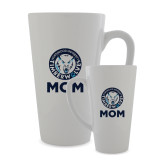 Full Color Latte Mug 17oz-Mom with Athletic Mark