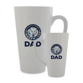 Full Color Latte Mug 17oz-Dad with Athletic Mark