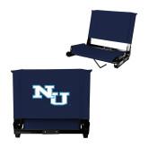 Stadium Chair Navy-NU Athletic Mark