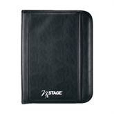 Insight Black Calculator Padfolio-