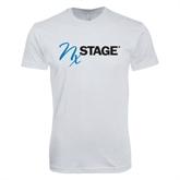Next Level SoftStyle White T Shirt-
