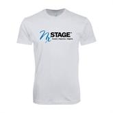Next Level SoftStyle White T Shirt-Invent. Improve. Inspire.