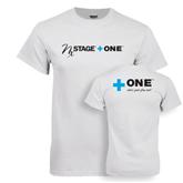 White T Shirt-NxStage Plus One