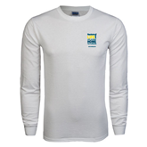 NxStage White Long Sleeve T Shirt-Reclaim Your Life with Portable Home Hemodialysis