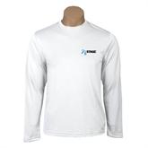 Performance White Longsleeve Shirt-