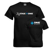 Black T Shirt-NxStage Plus One