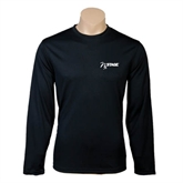 Performance Black Longsleeve Shirt-