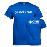 Royal T Shirt-NxStage Plus One