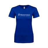 Next Level Ladies SoftStyle Junior Fitted Royal Tee-Medisystems