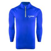 Under Armour Royal Tech 1/4 Zip Performance Shirt-