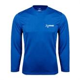 Performance Royal Longsleeve Shirt-