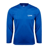 Performance Royal Longsleeve Shirt-Invent. Improve. Inspire.