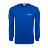 Royal Long Sleeve T Shirt-