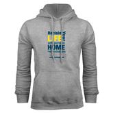 Grey Fleece Hoodie-Reclaim Your Life with Portable Home Hemodialysis