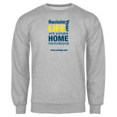 Grey Fleece Crew-Reclaim Your Life with Portable Home Hemodialysis