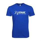 Next Level SoftStyle Royal T Shirt-Invent. Improve. Inspire.