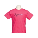 Youth Cyber Pink T Shirt-Foil