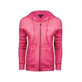 ENZA Ladies Fuchsia Fleece Full Zip Hoodie-Medisystems