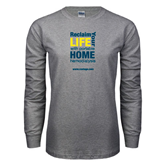 Grey Long Sleeve T Shirt-Reclaim Your Life with Portable Home Hemodialysis