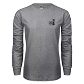 Grey Long Sleeve T Shirt-Take Control of Your Dialysis